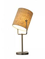 Недорогие -Современный современный Декоративная Настольная лампа / Лампа для чтения Назначение Спальня / Кабинет / Офис Металл 110-120Вольт / 220-240Вольт
