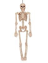 Недорогие -Праздничные украшения Украшения для Хэллоуина Хэллоуин Развлекательный Декоративная Бежевый 1шт