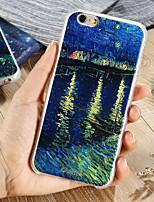 Недорогие -Кейс для Назначение Apple iPhone XS / iPhone XR / iPhone XS Max Защита от пыли / Ультратонкий / С узором Кейс на заднюю панель Пейзаж ТПУ