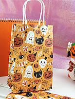Недорогие -Хэллоуин бумажный мешок конфет праздничные праздничные украшения подарочные пакеты хэллоуин поставок