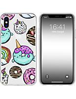Недорогие -чехол для iphone x xs max xr xs чехол назад мягкий чехол tpu creative pattern пончик soft tpu для iphone5 5s se 6 6p 6s sp 7 7p 8 8p16 * 8 * 1