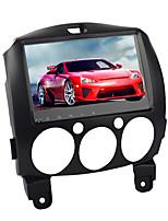 Недорогие -9-дюймовый 1-дюймовый Android 8.0 автомобильный GPS-навигатор автомобильный мультимедийный DVD-плеер с сенсорным экраном для Mazda 2 2007-2012