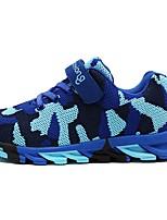 Недорогие -Мальчики Удобная обувь Flyknit Спортивная обувь Маленькие дети (4-7 лет) Беговая обувь Зеленый / Синий Осень