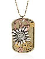 Недорогие -Жен. Ожерелья с подвесками Хром Бронзовый 70 cm Ожерелье Бижутерия 1шт Назначение фестиваль