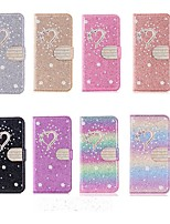 cheap -Case For Apple iPhone 11 / iPhone 11 Pro / iPhone 11 Pro Max Wallet / Card Holder / Shockproof Full Body Cases Heart PU Leather