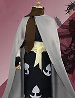 Недорогие -Вдохновлен Косплей Косплей Аниме Косплэй костюмы Японский Косплей Костюмы трико / Комбинезон-пижама / Перчатки / Пояс Назначение Муж.
