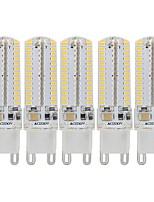 Недорогие -5 шт. 3 W Двухштырьковые LED лампы 340 lm G9 104 Светодиодные бусины SMD 3014 Декоративная Милый Тёплый белый Холодный белый 110-130 V