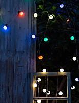 Недорогие -5 метров Гирлянды 20 светодиоды Разные цвета Декоративная 220-240 V 1 комплект