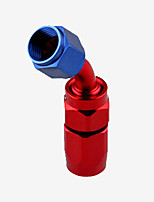 Недорогие -Поворотный патрубок an12 для шлангового соединения масла / топлива / газа 45/90