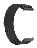 Недорогие -Ремешок для часов для Предтеча 245M Garmin Миланский ремешок Нержавеющая сталь Повязка на запястье