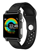 Недорогие -Смарт Часы Цифровой Современный Спортивные силиконовый 30 m Защита от влаги Пульсомер Bluetooth Цифровой На каждый день На открытом воздухе - Черный Черный / серый Черный / Красный