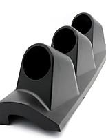 Недорогие -Держатель счетчика с 3 отверстиями, 52 мм, штатив, черный, правая сторона