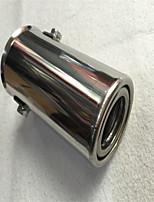 Недорогие -Входной диаметр 51 мм из нержавеющей стали выхлопной трубы глушителя модифицированная задняя глотка a2 / применимо от 1,0 до 1,3 выхлопных микро-автомобилей