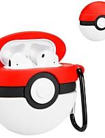 Недорогие -Защитный чехол Молодежный стиль Apple Airpods кремнийорганическая резина