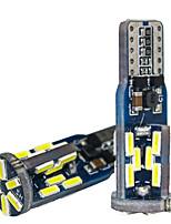 Недорогие -10 шт. Canbus w5w led t10 led 192 168 wy5w 30smd супер яркие светодиодные автомобильные лампы для чтения купола авто габаритные огни клин задние боковые лампочки 12 В