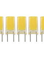 Недорогие -5 шт. 2 W Двухштырьковые LED лампы 260 lm G8 1 Светодиодные бусины COB Новый дизайн Милый Тёплый белый Холодный белый 220-240 V