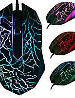 Недорогие -Мышь Wrangler кабель игры фотоэлектрическая компьютерная мышь интернет-кафе офисная игра киберспорт USB светящаяся мышь
