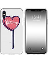 Недорогие -чехол для iphone x xs max xr xs чехол назад мягкий чехол tpu творческий шаблон сердце soft tpu для iphone5 5s se 6 6p 6s sp 7 7p 8 8p16 * 8 * 1