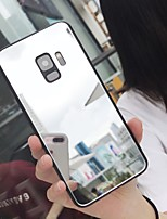 cheap -Case For Samsung Galaxy S8 S8P S9 S9P S10 S10P NOTE 10 NOTE 10Pro NOTE 8 NOTE 9 Mirror Back Cover Solid Colored PC