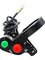 Недорогие -Кнопка переключателя 3/1 для установки на руль мотоцикла (для светодиодных фар, указателей поворота), калибр22 мм