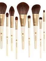 Недорогие -профессиональный Кисти для макияжа 12шт Мягкость Новый дизайн обожаемый Деревянные / бамбуковые за Косметическая кисточка