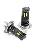 Недорогие -2шт высокой мощности автомобиля светодиодные противотуманные фары h7 кри 12 светодиодные фары лампы