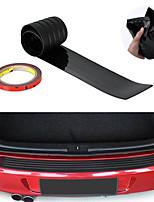 Недорогие -90см - универсальный автомобиль черный задний бампер защитная накладка резиновая крышка защитная накладка накладка
