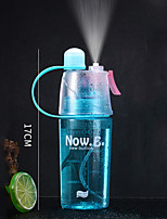 Недорогие -Бутылка для воды 400 ml Пищевые материалы Портативные Прочный для Отдых и Туризм На открытом воздухе Походы / туризм / спелеология 1 pcs Черный Зеленый Красный Синий