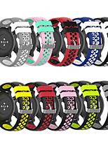 Недорогие -Ремешок для часов для Gear Sport / Gear S2 Classic / Samsung Galaxy Watch 42 Samsung Galaxy Спортивный ремешок силиконовый Повязка на запястье