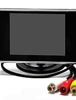 Недорогие -3.5 дюймовый TFT-LCD Проводное Автомобильный реверсивный монитор LCD экран / Поддержка VCD, DVD для Автомобиль