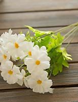 Недорогие -Искусственные Цветы 1 Филиал Классический европейский Пастораль Стиль Ромашки Букеты на стол