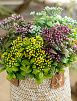 Недорогие -Искусственные Цветы 1 Филиал Классический Деревня Свадебные цветы Вечные цветы Букеты на стол