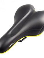 Недорогие -WILDSIDE Седло для велосипеда Очень широкий Дышащий Комфорт Профессиональный силикагель пластик Пена с памятью Велоспорт Шоссейный велосипед Горный велосипед троеборье Черный Коричневый / Толстые