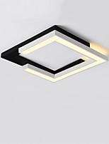 Недорогие -CONTRACTED LED® Линейные / геометрический Потолочные светильники Потолочный светильник Окрашенные отделки Металл LED, Новый дизайн 110-120Вольт / 220-240Вольт Теплый белый / Белый