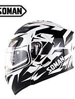 Недорогие -зоман двойные козырьки мотоциклетный уличный шлем мужчины женщины мотоцикл откидной шлем шлем анфас мотокросс шлем точка одобрения sm955-skyeye