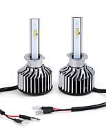 Недорогие -1 пара высокой мощности 6000K K8 H1 светодиодные фары