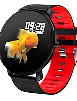 Недорогие -K9 умные часы ip68 водонепроницаемый полный сенсорный цветной монитор сердечного ритма фитнес-трекер спорт мужчины женщины smartwatch