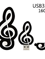 Недорогие -Майко музыкальная нота кремнезема USB 3.0 флэш-памяти хранения большого пальца U диск 16 г