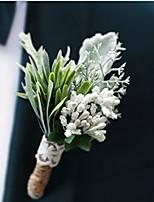 Недорогие -Искусственные Цветы 1 Филиал Односпальный комплект (Ш 150 x Д 200 см) Свадебные цветы Pастений