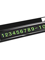 Недорогие -автомобиль временный знак остановки автомобиля номерной знак творческий парк новые продукты украшения автомобиля