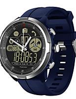 Недорогие -водонепроницаемые смарт-часы с поддержкой уведомлений / пульсометром