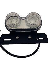 Недорогие -ретро светодиодный мотоцикл двойной двойной хвост поворотник тормозной номерной знак интегрированный свет