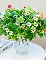 Недорогие -Искусственные Цветы 1 Филиал Классический Modern Пастораль Стиль Гардения Вечные цветы Букеты на стол