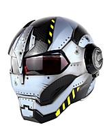 Недорогие -уникальный стиль анфас мотоциклетный шлем винтаж ретро гонщик защитник головы мото шлем