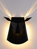 Недорогие -Мини / Творчество LED Настенные светильники Гостиная / Спальня Металл настенный светильник 110-120Вольт / 220-240Вольт
