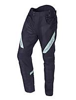 Недорогие -Усовершенствованные мужские мотоциклетные костюмы для беговых гонок Защитная одежда с светоотражающей линией Черные и белые брюки