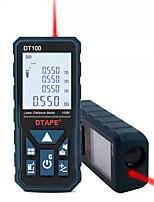 Недорогие -dtape dt50 dt80 dt100 dt120 2,0-дюймовая подсветка ЖК-экран цифровой лазерный дальномер дальномер одиночная непрерывная зона / объем / пифагорейское измерение 50 м 80 м 100 м 120 м - 50 м