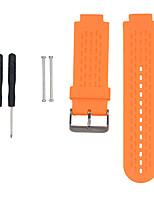 Недорогие -Ремешок для часов для Approach S4 / Approach S2 Garmin Спортивный ремешок силиконовый Повязка на запястье