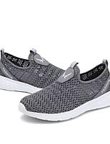 Недорогие -Муж. Комфортная обувь Tissage Volant Лето На каждый день Мокасины и Свитер Дышащий Черный / Черно-белый / Серый