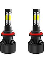 Недорогие -2шт 12v s2 светодиодная лампа головного света моделиsh8 / h9 / h11